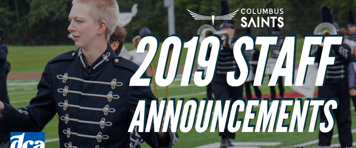 Announcing our 2019 Corps Staff
