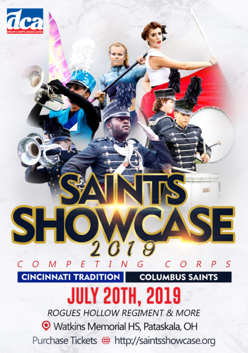 Saints Showcase 2019 Poster