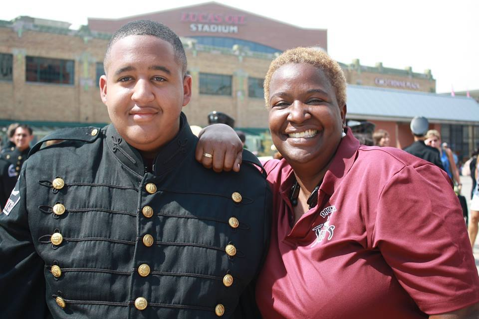 Christian Jones and his Mother!