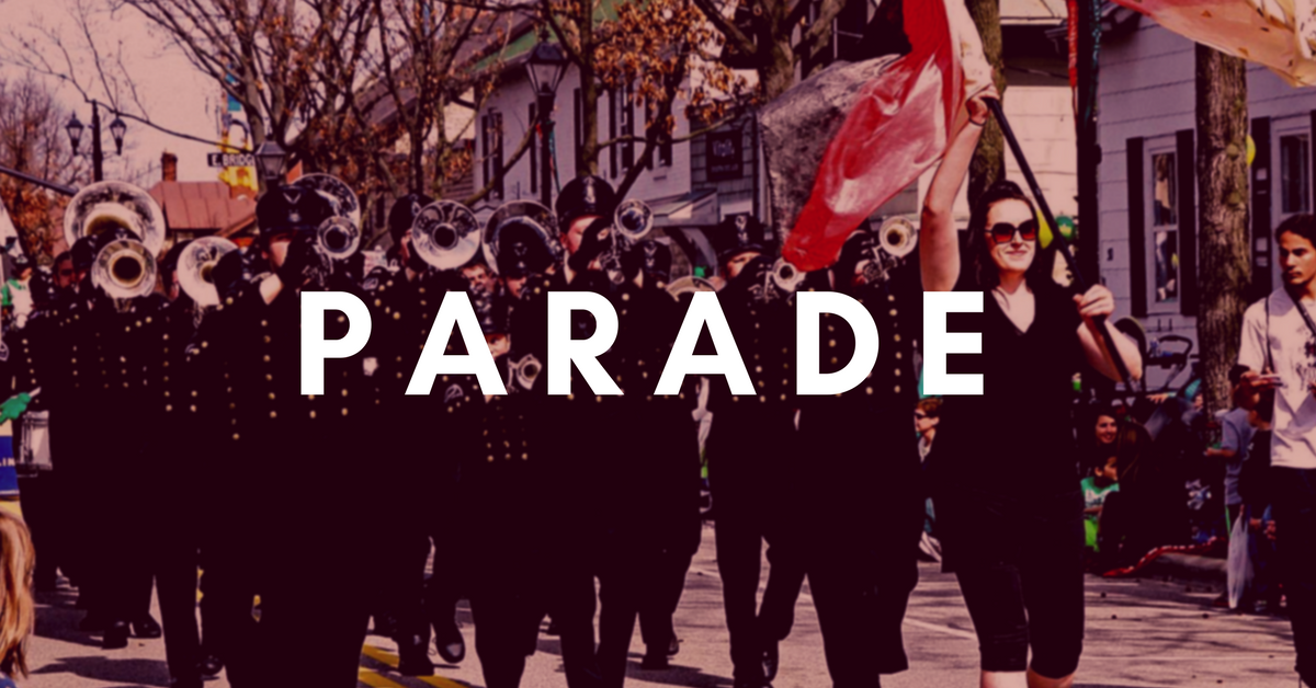On the March!