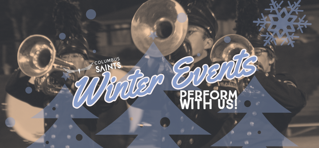 Saints announce winter performances, inviting local musicians to participate.
