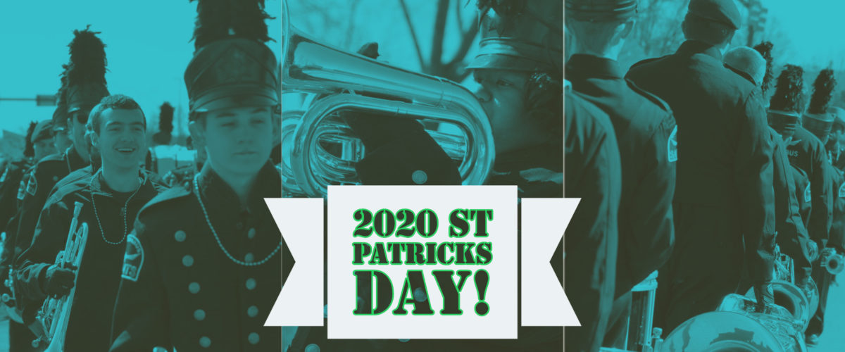 Join the Corps for St Patrick's Day!